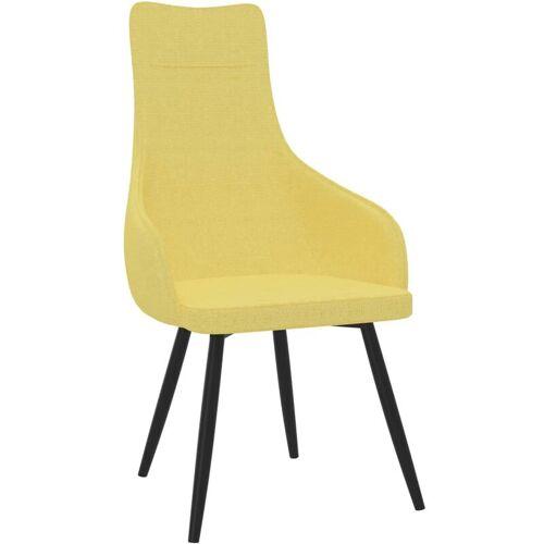 Vidaxl - Sessel Senfgelb Stoff