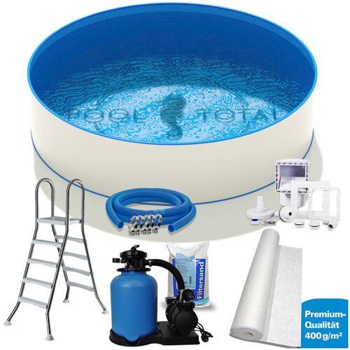 Hobby Pool - Set PREMIUM Ø 4,00 x 1,20m Folie 0,6mm mit Einhängebiese