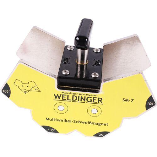 WELDINGER SM-7 schaltbarer Multiwinkel-Schweißmagnet mit Drehschalter klein