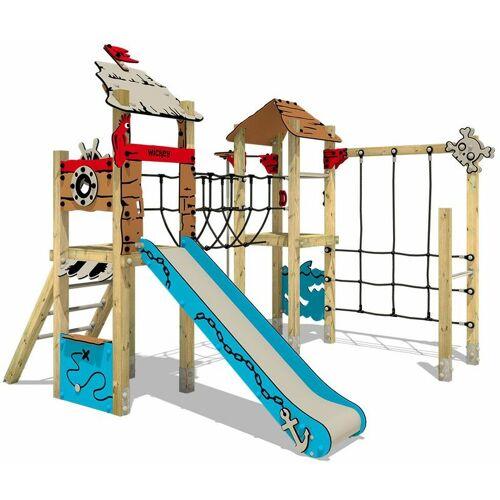 WICKEY Spielplatzgerät aus Massivholz WICKEY PRO MAGIC Treasure mit Rutsche