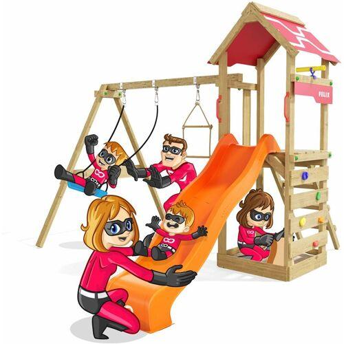 HEROOWS Spielturm Active Heroows Schaukelgestell mit Sandkasten und