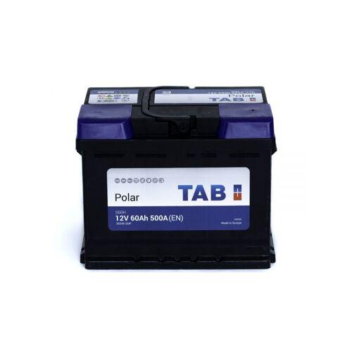 TAB Starterbatterie TAB Polar S L2 12V 60Ah 500A S60H