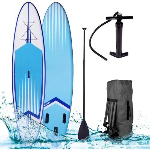 BRAST SUP Board aufblasbar PRO 320 blue - BRAST