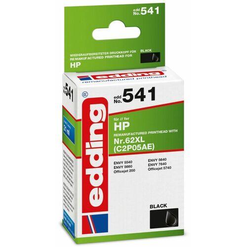 EDDING Tintenpatrone EDDING EDD-541, für HP 62XL (C2P05AE)