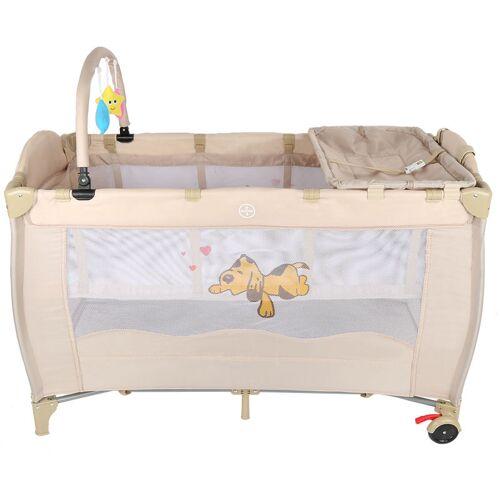 OOBEST Tragbares Baby Reisebett Babybett Spielbett Laufstall Kinderbett Baby