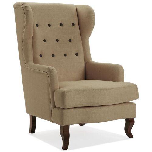 Versa Botones Sessel für Wohnzimmer, bequemer Sessel, 103x62x68cm