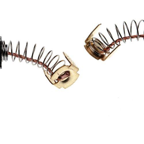 VHBW 2x Kohlebürste, Motorkohle, Schleifkohle 6 x 10 x 15mm Ersatz für