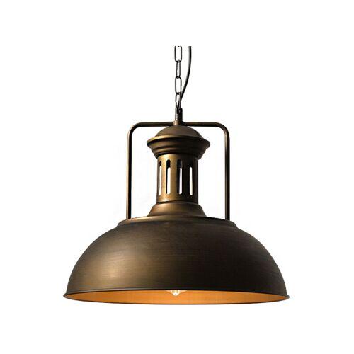 STOEX Vintage Nostalgische Deckenlampe Retro Industrielle Pendellampe Ø330mm
