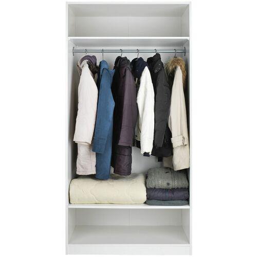WENKO 2er Set Vakuum L Aufbewahrung System Kleidung 70x105 cm Platzwunder