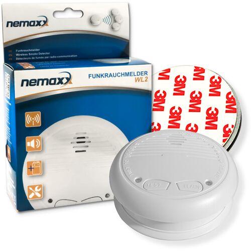 NEMAXX 1x Nemaxx WL2 Funkrauchmelder Rauchmelder Brandmelder Set Funk