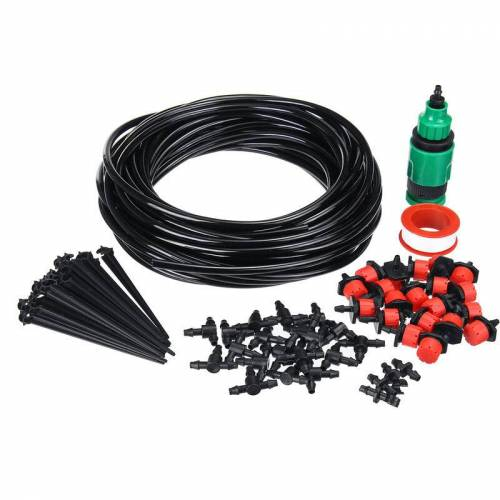 Augienb - 25m Garden Tropfbewässerungsrohr-Bewässerungssystem