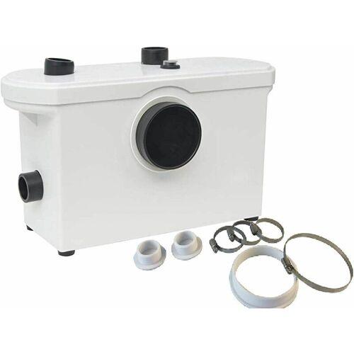 BC-ELEC MP600 Hebeanlage/Abwasserpumpe Toilette und Sanitär 600W - Weiss