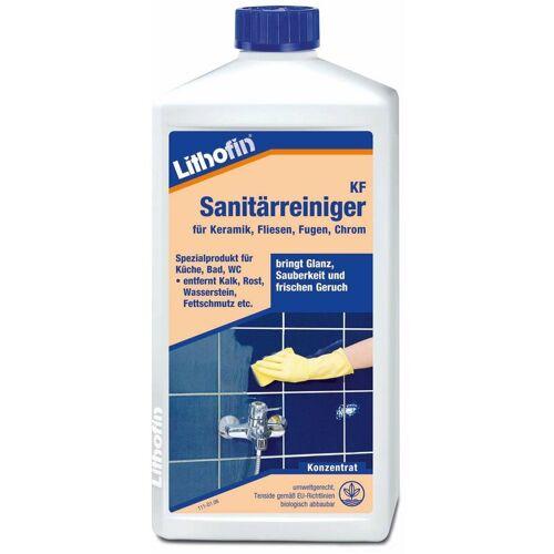 Lithofin KF Sanitärreiniger für Fliesen Fugen Chrom Keramik 1 Liter