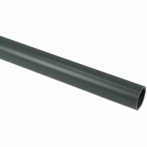 Mega Group - Mega Druckrohr 1,00 m glatt PVC-U grau - Ø 110 x 4,2 mm