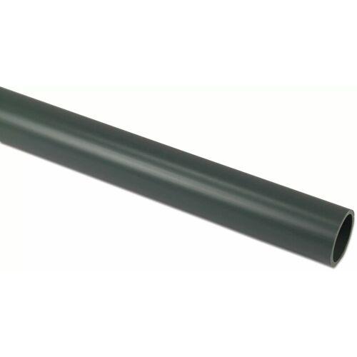 Mega Group - Mega Druckrohr 1,00 m glatt PVC-U grau - Ø 200 x 7,7 mm