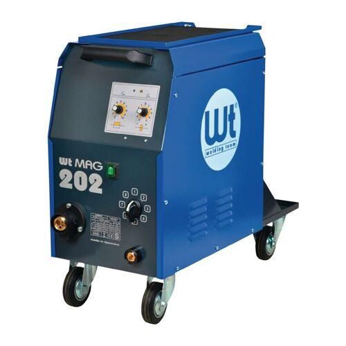 WELDING TEAM MIG/MAG-Schweißanlage WT-MAG 202 o.Zub.25-200 A gasg. - Welding Team