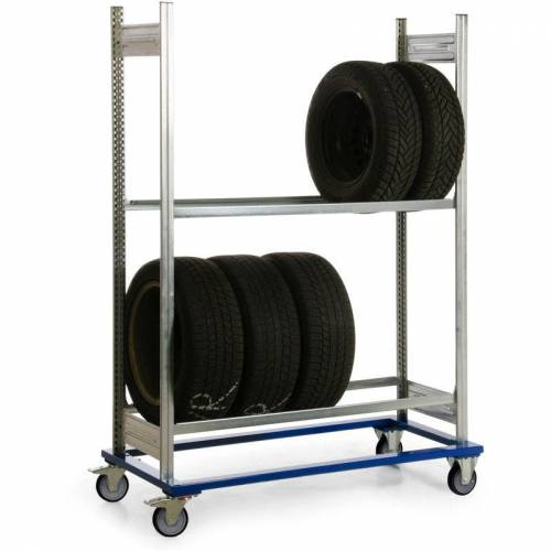 PROTAURUS Fahrgestell mit Reifenregal - Protaurus
