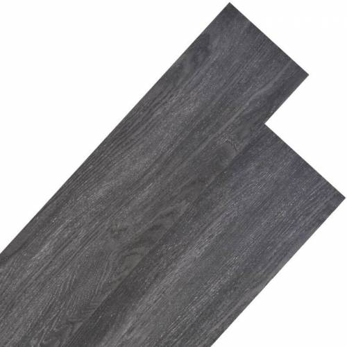 VIDAXL PVC Laminat Dielen 4,46 m² 3 mm Schwarz