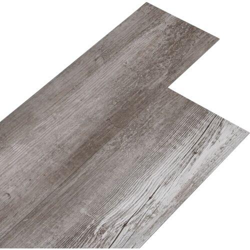 VIDAXL PVC Laminat Dielen 5,26 m² 2 mm Mattbraun Holzoptik