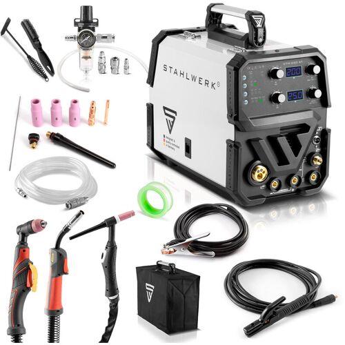 STAHLWERK CTM-250 ST Kombi-Schweißgerät WIG + MIG/MAG + MMA/E-Hand +