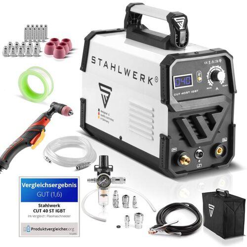 STAHLWERK CUT 40 ST IGBT Plasmaschneider Vollaustattung mit 40 Ampere,