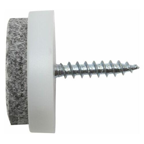 SWG Filzgleiter für Parkett und Fliesen 24 mm 4 Stück - SWG