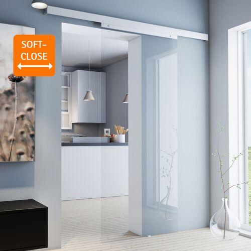 inova Star Tür Schiebetür Glas klar 880x2035 Glasschiebetür Zimmertür