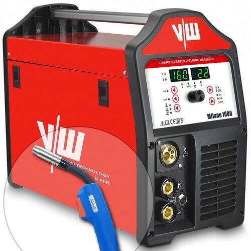 VECTOR WELDING® Vector Welding ® - MIG MAG Schweißgerät 160A, MMA Elektrode 140A, IGBT,