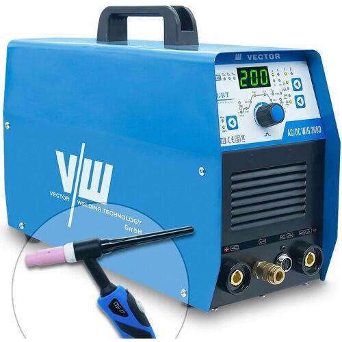VECTOR WELDING® Vector Welding ® - AC/DC WIG Schweißgerät 200A, MMA Elektrode 170A,