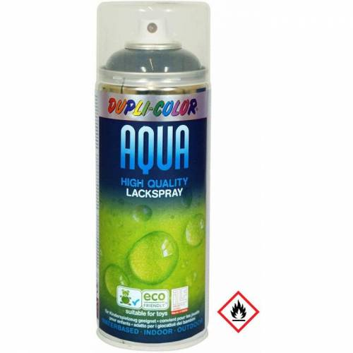MOTIP DUPLI Dupli Color 252563 Aqua Lackspray RAL 9005 matt in schwarz 350ml