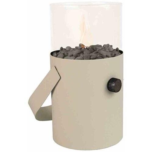 COSI Gaslaterne weiß Ø16x30cm Deko Laterne Beleuchtung Lampe Dekobeleuchtung
