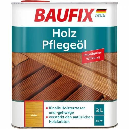 BAUFIX Holz-Pflegeöl kiefer 3 L - Baufix