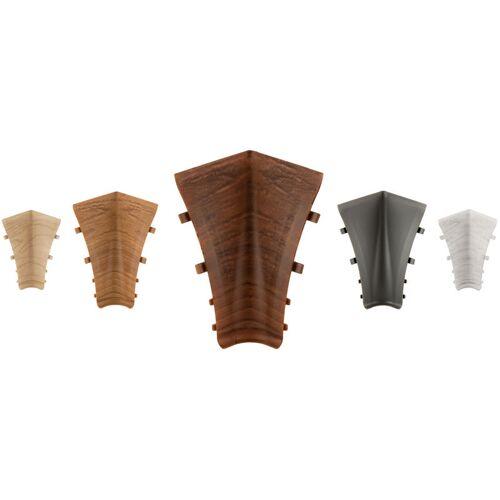 LEMAL Innenecken für PVC Sockelleisten   Kabelkanal   Fußleisten