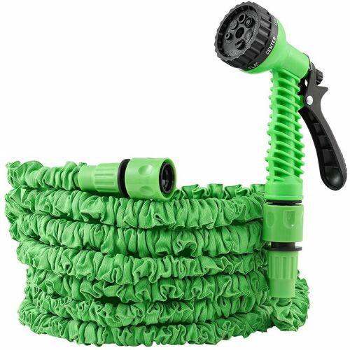 Juskys Flexibler Gartenschlauch Aqua - Wasserschlauch flexibel dehnbar