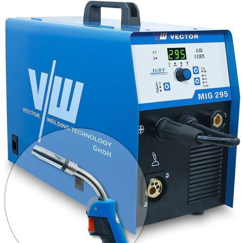 VECTOR WELDING® Vector Welding ® - MIG MAG Schweißgerät 295A, MMA Elektrode 250A, 400V,