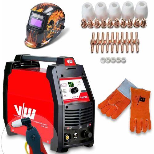 VECTOR WELDING® Vector Welding ® - Plasmaschneider SET 50A Schweißerhelm