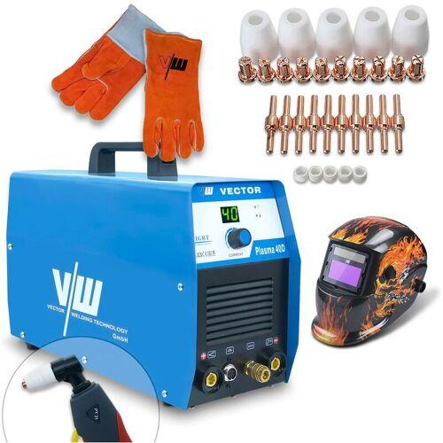 VECTOR WELDING® Vector Welding ® - Plasmaschneider SET Schweißerhelm,