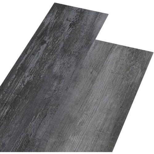 VIDAXL PVC-Laminat-Dielen 4,46 m² 3 mm Glänzend Grau