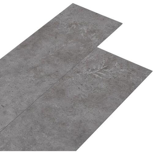 Vidaxl - PVC-Laminat-Dielen 5,26 m² 2 mm Betongrau