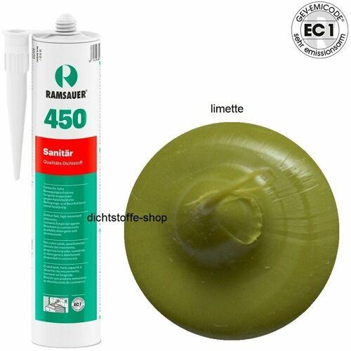 RAMSAUER® Ramsauer ® - Ramsauer 450 Sanitär 1K Silicon Dichtstoff 310ml Kartusche