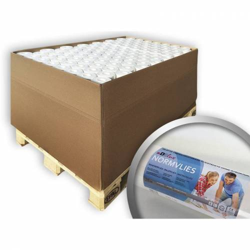 E-DELUX Renoviervlies NORMVLIES 150 g Malervlies Anstrich-Vlies glatte