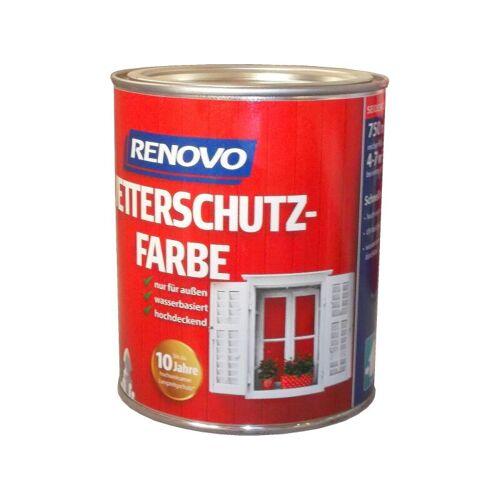 RENOVO 750ml Wetterschutzfarbe Nr.9900 schwarz - Renovo