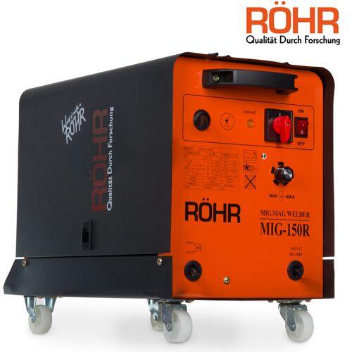 RÖHR MIG-150R - Fülldraht-Schweißgerät für MIG-Schweißen - mit Gas - DC