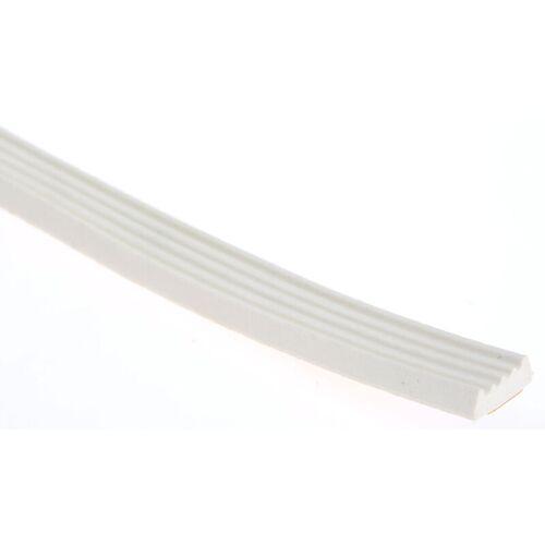 RS PRO Schaumstoff Klebeband Weiß, Stärke 3mm, 8mm x 16.5m