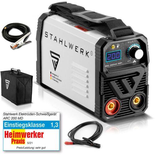 STAHLWERK Schweißgerät STAHLWERK ARC 200 MD IGBT - MMA / E-Hand Schweißanlage mit
