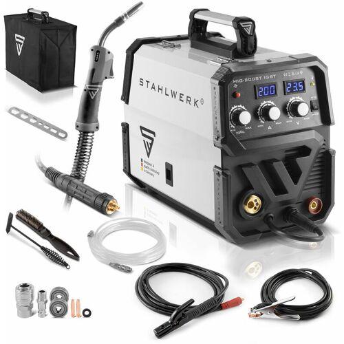 STAHLWERK Schweißgerät STAHLWERK MIG 200 ST IGBT - MIG MAG Schutzgas