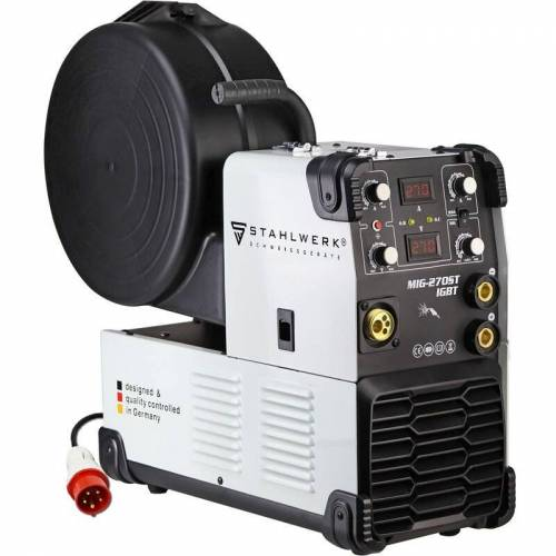 STAHLWERK Schweißgerät STAHLWERK MIG 270 ST IGBT - MIG MAG Schutzgas