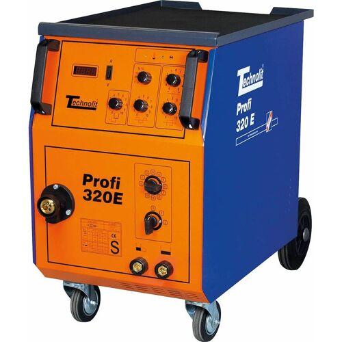 TECHNOLIT Profi 320 E Schutzgasschweißanlage Schweißgerät inkl.