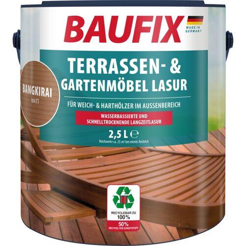 BAUFIX Terrassen- und Gartenmöbel-Lasur matt bangkirai 2,5 L