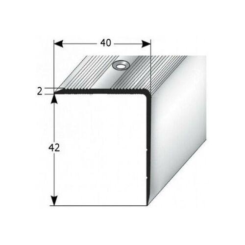 AUER Treppenkante 'Forli', Treppenkantenprofil / Winkelprofil (Größe 40 mm x